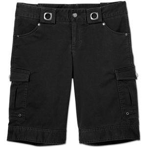 Athleta Black Kickit Bermuda Shorts Size 10